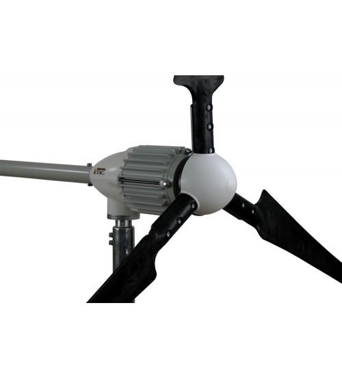 Rüzgar Türbini 2000W 48V Dump Load ve Dijital Şarj