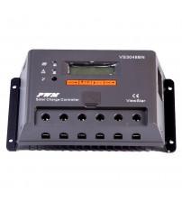 Şarj Kontrol Cihazı TS 20A - 12/24V - Lcd