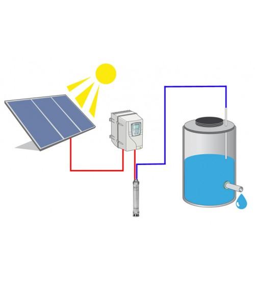 Sulama Paketi - Pompa Gücü: 2 hp/1,5 kW
