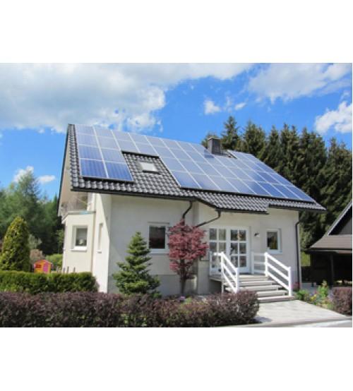 Şebeke Bağlantılı (On Grid) Çatı Uygulaması 10 kW