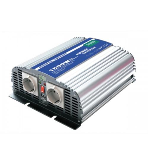 Modifiye Sinüs İnverter SS 1500 W 24V 230V