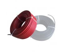 Solar Kablo 6mm Kırmızı 1 metre (istediğiniz metrajda adet çoğaltınız)