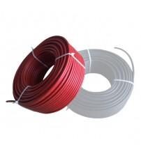 Solar Kablo 4mm Kırmızı 1 metre (istediğiniz metrajda adet çoğaltınız)
