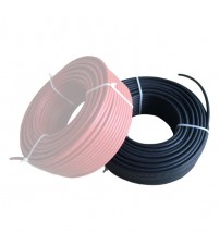 Solar Kablo 4mm Siyah 1 metre (istediğiniz metrajda adet çoğaltınız)