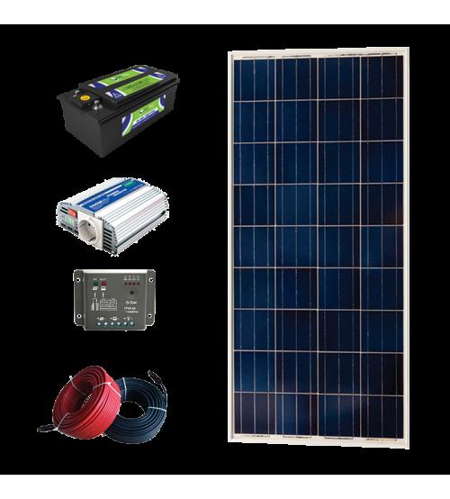 Solar Paket 100 - Lamba ve Şarj