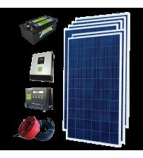 Solar Paket 1,5 kW - Lamba, TV, Uydu, Orta Boy Buzdolabı, Ev Aletleri, Su Pompası, Çamaşır Makinesi ve Şarj