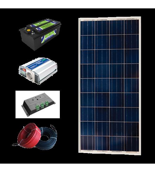 Solar Paket 150 - Lamba ve Şarj