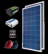 Solar Paket 300 - Lamba, TV, Uydu, Mini Buzdolabı ve Şarj