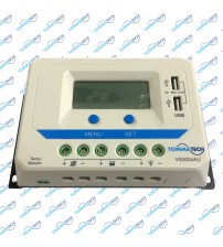 Şarj Kontrol Cihazı LCD Ekranlı 30A 24V - VS-AU Serisi