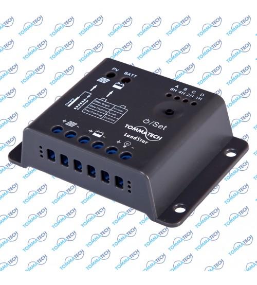 Şarj Kontrol Cihazı 5Ah 12V - LSR Serisi (Gece Modu)