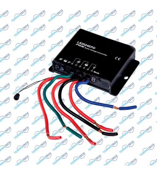 Şarj Kontrol Cihazı 20A 12V/24V IP66 - LSEPD Serisi (Gece Modu)